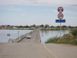 Astrakhan To Kazakhstan Border pontoon