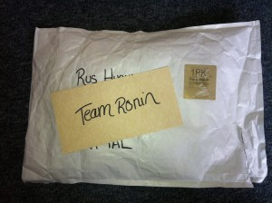 An Exciting Hand Written Parcel